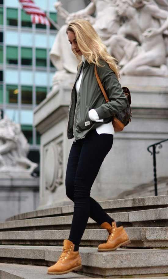 Admisión oleada Tareas del hogar  35+ Timberland Winter Outfits | Timberland outfits women, Timbs outfits,  Timberland outfits