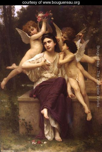 Rêve de printemps (A Dream of Spring) - William-Adolphe Bouguereau - www.bouguereau.org