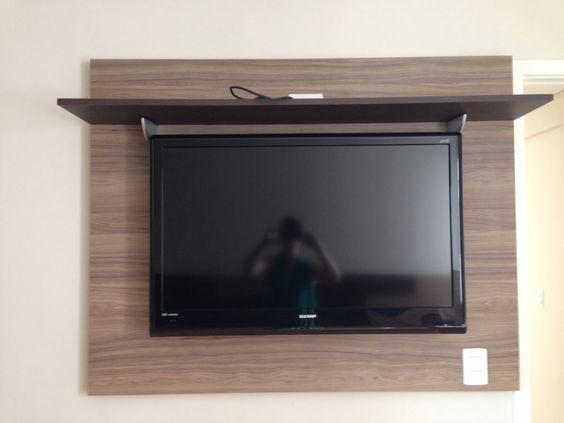 Painel TV quarto