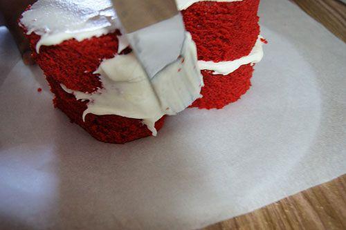 Eggless Red Velvet Cake With Cream Cheese Valentine S Day Recipe Recipe In 2020 Red Velvet Cake Cake With Cream Cheese Eggless Red Velvet Cake
