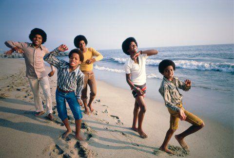 Jackson 5 on the beach