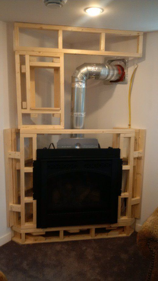 How To Frame A Fireplace Dengarden Fireplace Frame Installing A Fireplace Corner Gas Fireplace