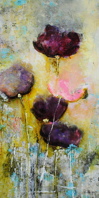 Emilija Pasagic. Lovely plums, greys and golds would look great on a wall in plum cottage.