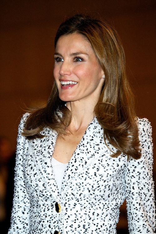 """Princess Letizia attends the Congress' 60 years of life because of you """", the Spanish Association Against Cancer (AECC) at Palacio de Congre..."""