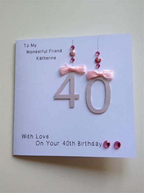 Granimarmo Com 40th Birthday Cards Birthday Card Design Birthday Cards For Friends