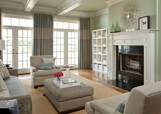 Calming colors living rooms and colors on pinterest for Calming colors for living room