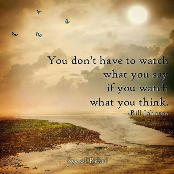 You Don't Have To Watch What You Say If You watch What You ...