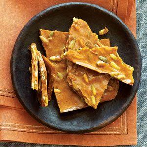 Cinnamon Pumpkin Seed Brittle   MyRecipes.com