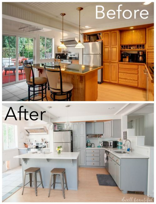 Diy Budget Kitchen Renovation Our Gorgeous Kitchen Reveal Beautiful Home Renovation And Design