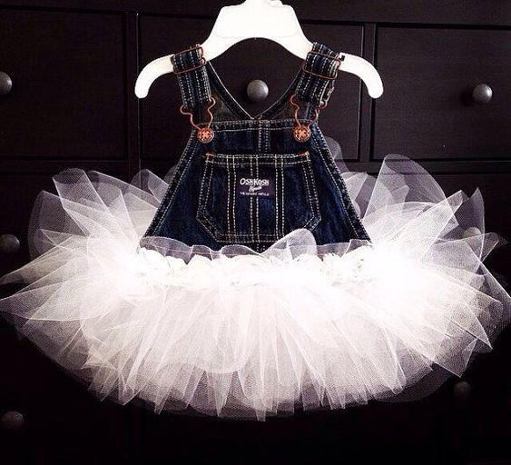 Tutu Overall Dress by GoldenFern on Etsy