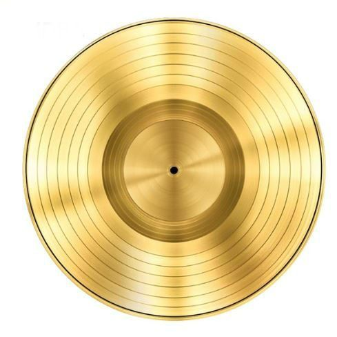Vinyl Gold Record Music Retro Style Rug Home Decor Carpet Rug Mat Golden Record S Vinyl Vinyl Rug Retro Design