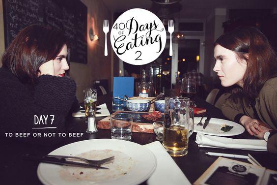 """Fleisch ist ihr Gemüse! Maria und Sophia reisen nach Schöneberg, um die italienische Küche im """"To Beef Or Not To Beef"""" zu testen."""