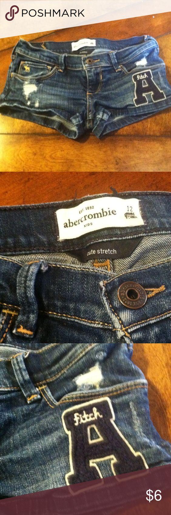Shorts Abercrombie jean shorts girls size 12 abercrombie kids Shorts Jean Shorts