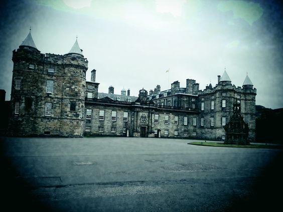 El Palacio de Holyrood Edimburgo