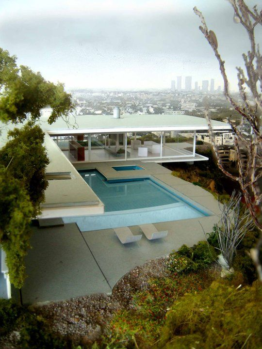 Stahl House A Modern Residence In Los Angeles Mathwatson - Stahl-house-a-modern-residence-in-los-angeles