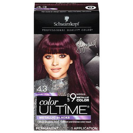 Schwarzkopf Color Ultime Metallic Permanent Hair Color Cream