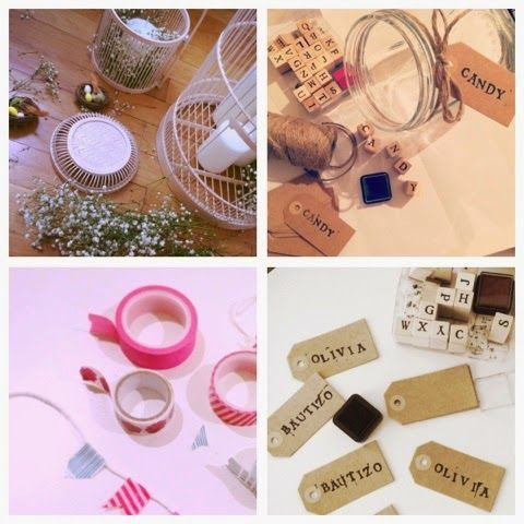 DIY projects for inexpensive party or wedding
