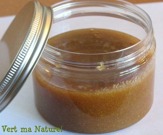 exfoliant sucré-salé à la vanille prêt en 5 minutes - Nathalie Chausseau