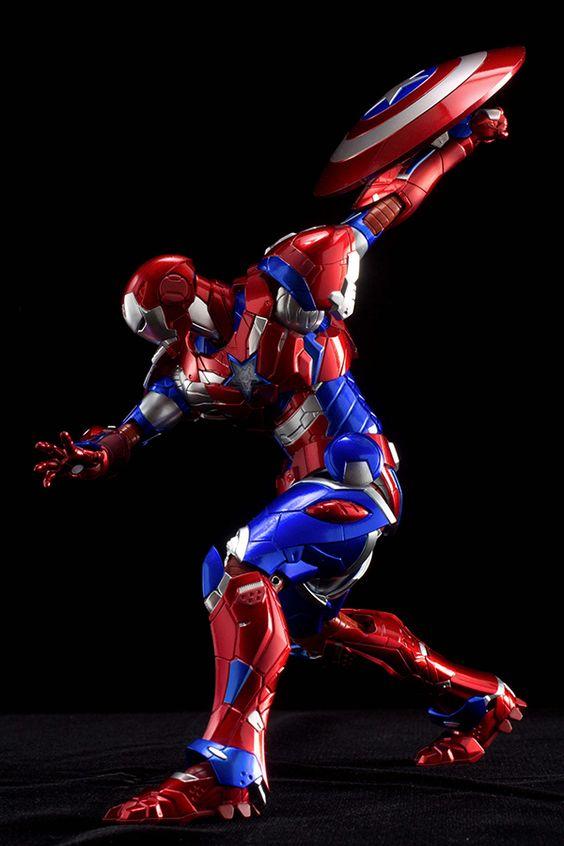 TAG Hobby » 2015年7月26日 WONDER FESTIVAL2015夏 – 千值練於會場發售: RE:EDIT #03 Iron Patriot (鋼鐵愛國者) 20,000Yen