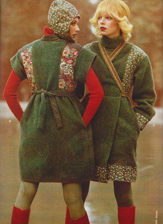 Kenzo in Elle France, 1971. Image via Pinterest.