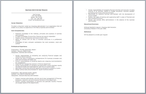 Chief Operation Officer Resume Resume   Job Pinterest - resume for law enforcement