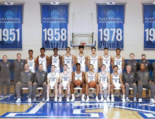 2019 20 Kentucky Basketball Team Uk Kentucky Basketball Basketball Teams Basketball