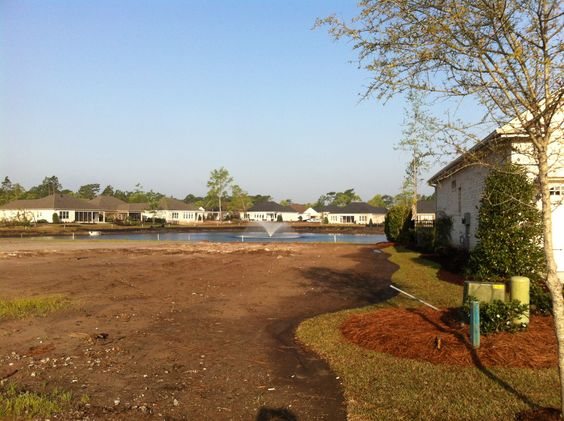 New waterfront  homesites #MyrtleBeach #GrandeDunes