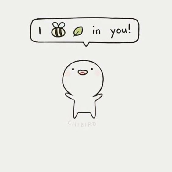 I bee leaf (believe) in you!, text, cute, person; Anime