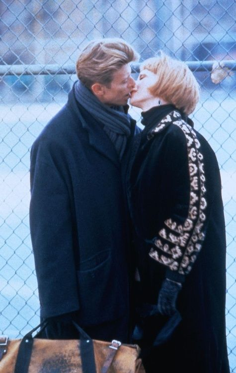 1991 - David Bowie as Monte and Rosanna Arquette as Lucy in The Linguini Incident.
