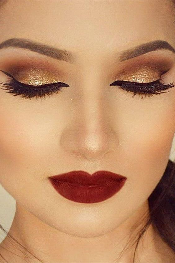 290 Imagenes De Maquillaje De Dia Noche Fiesta Natural Rubias Y Morenas Informacion Imagene Maquillaje Dia Maquillaje Ojos Dorados Imagenes De Maquillaje