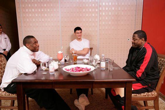Mutombo &  Ming &  Ewing