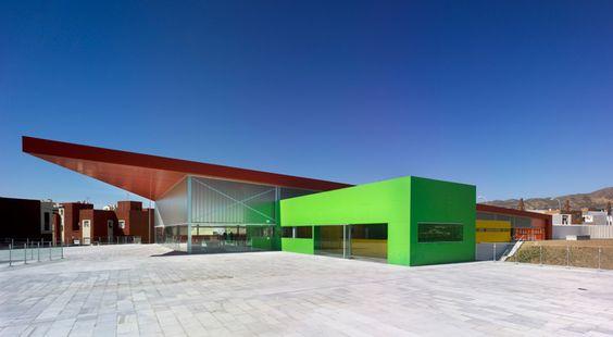 ferrer arquitectos: los almendros social centre