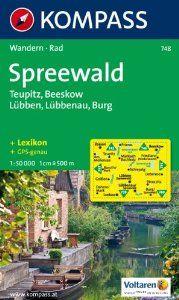 748: Spreewald 1:50, 000 . $8.12