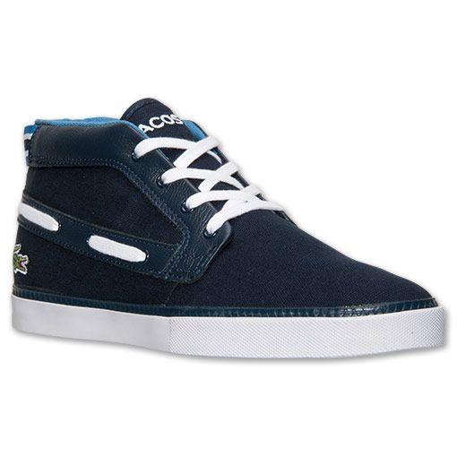 Кроссовки ( кеды ) мужские оригинальные Производство США Lacoste Men's Bowline Casual Shoes ( лакосте )