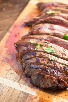 This citrus marinated flank steak is a copycat of a favorite Brazillian steakhouse meal!!