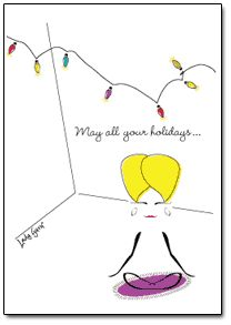 May all your holidays.....Inside Text..... be enlightening!    Buy at:  http://www.ladyguru.com