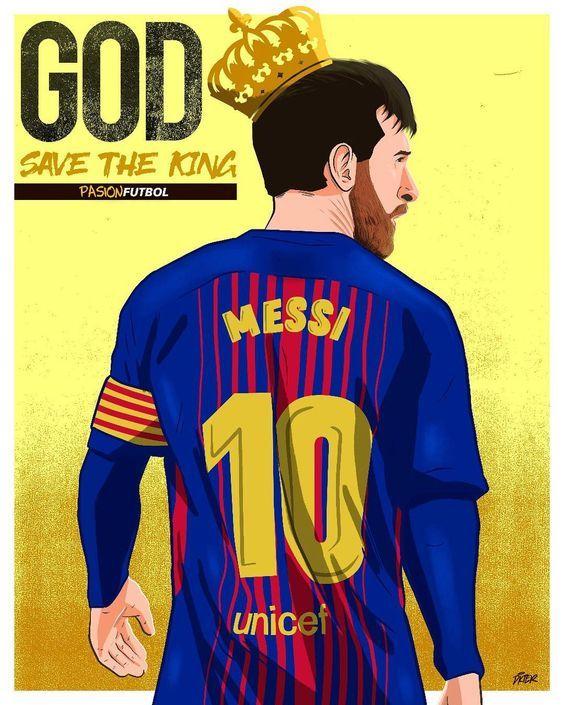 Lionel Messi By Ricardo Dickter Jogadores De Futebol