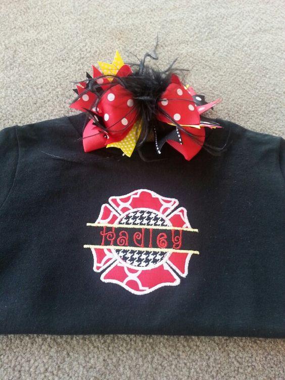 Custom Maltese Cross appliqué shirts! Follow us on social media at Meme's Sweet Treasures!