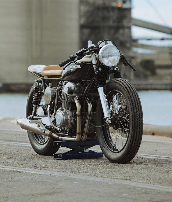 Honda CB750K Cafe Racer by Glory Road Motorcycles #motorcycles #caferacer #motos | caferacerpasion.com