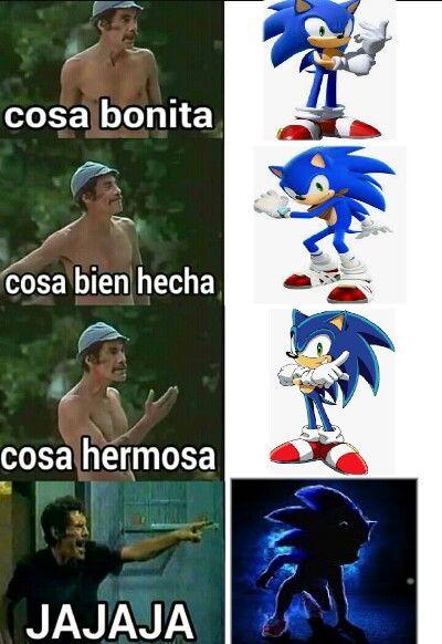 Memes Que Solo Los Fans De Sonic Podran Encontrar Graciosos Memes Memes Divertidos Memes De Videojuegos