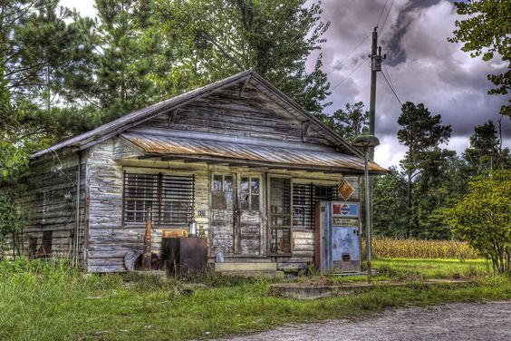 Abandoned general store in North Carolina.