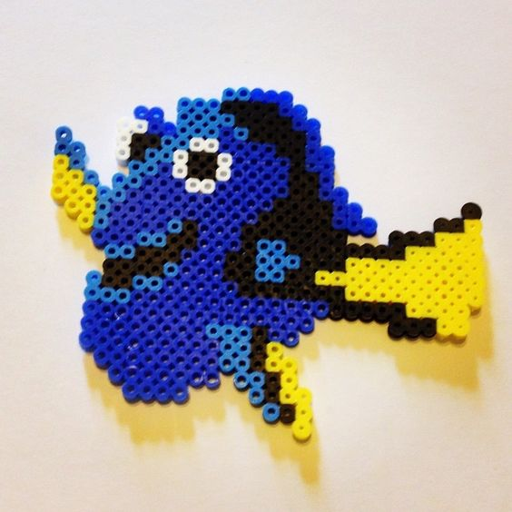 Dory perler beads by b_town_crafts