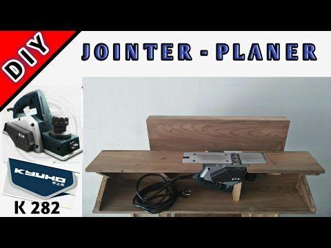 Diy Jointer Dari Mesin Serut Planer Kyuho K282 Youtube Di 2020 Perkakas Kayu Mesin