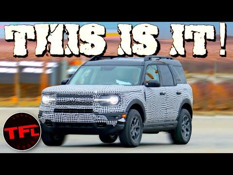 This Is It 2021 Ford Bronco Sport Spied Here S Why It Will Be A