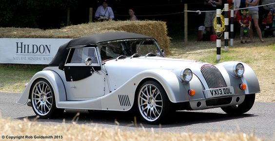 A Morgan  Its amazing they still make these cars out of wood