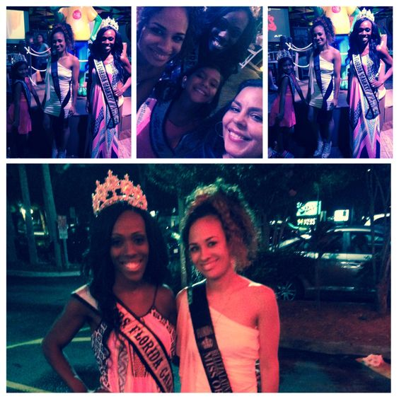miss Florida Belleza Latina contestant - Orlando  Having a little fun supporting our current state queens!! #TeamFlorida