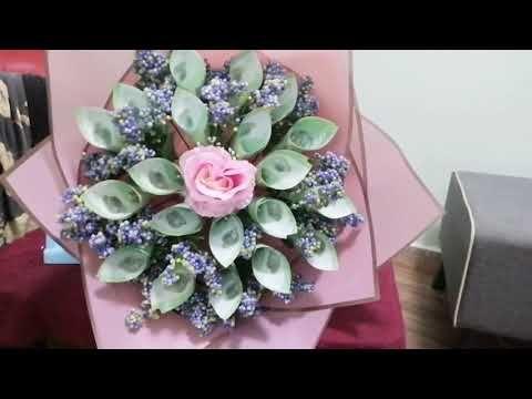 Toturial Bouquet Duit Cara Buat Jambangan Duit Kertas Easy Money Bouquet Buket Uang Youtube Money Bouquet Wedding Gift Money Flower Money Bouquet Gift Ideas