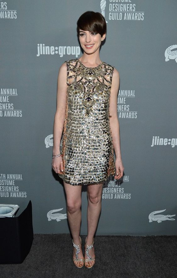 Anne Hathaway #HauteCouture: