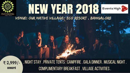 Pratimoksa New Year Bash 2018 New Years Party Newyear New Year 2018