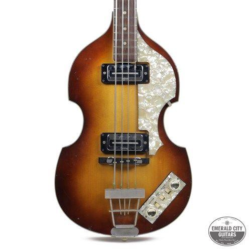 1967 Hofner 500 1 Violin Bass Sunburst 2 295 00 Bass Guitar Guitar Bass Guitars For Sale